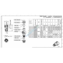 CUPLA AER M15X1,5