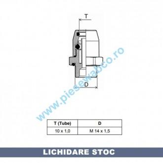 CUPLA AER M14X1,5