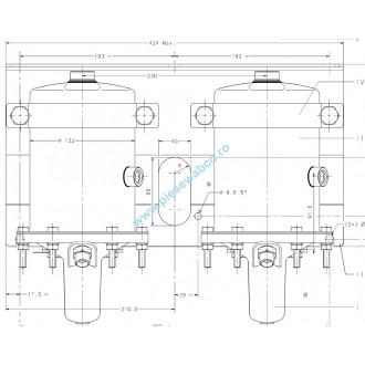 Kit acuator hidraulic