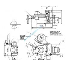 CUPLA AER GALBENA M24X1,5