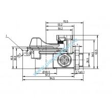 CUPLA AER ROSIE M24X1,5